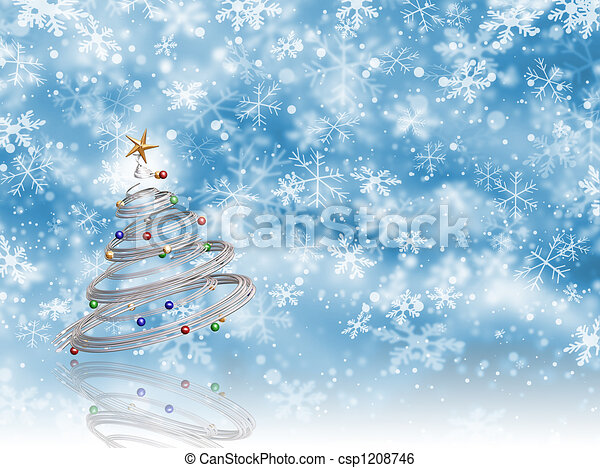 Christmas tree - csp1208746