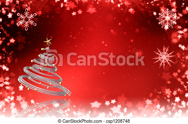 Christmas tree - csp1208748