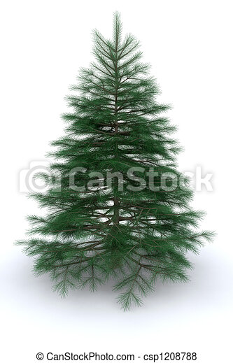 Christmas tree - csp1208788