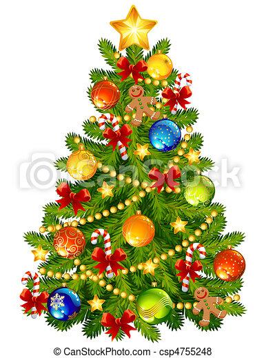 Christmas tree - csp4755248