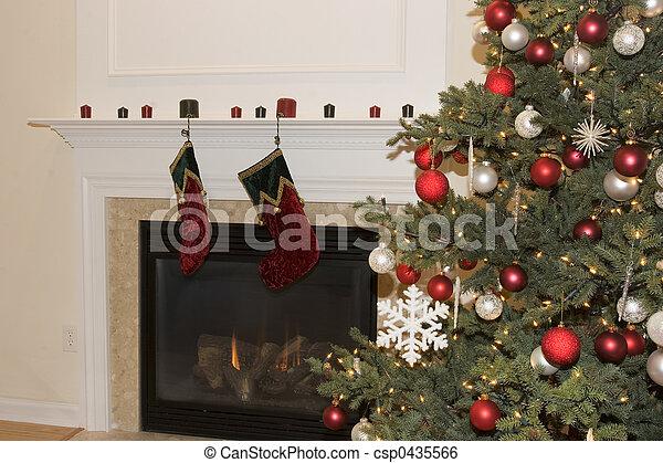 Christmas Tree - csp0435566