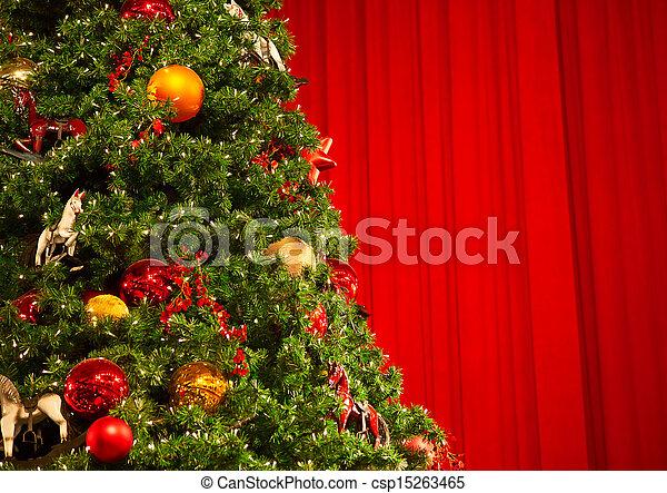 Christmas tree - csp15263465