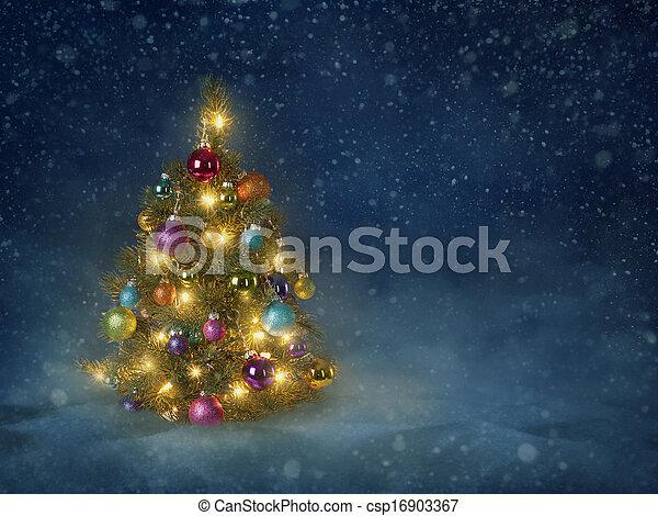 Christmas tree - csp16903367