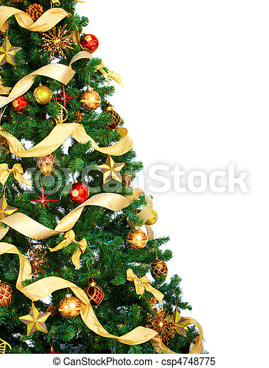 Christmas Tree - csp4748775