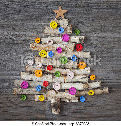 Christmas tree - csp16373928