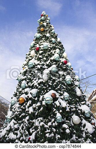 Christmas Tree - csp7874844