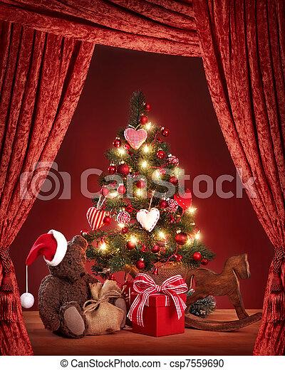 Christmas tree - csp7559690