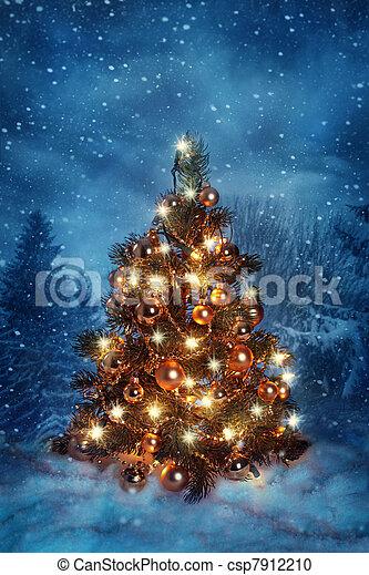 Christmas tree - csp7912210