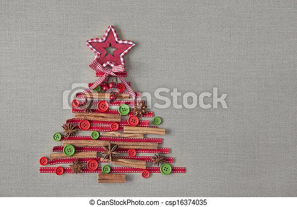 Christmas tree - csp16374035