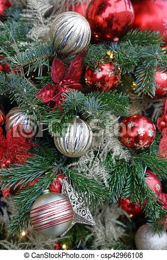 Christmas Tree Texture Christmas Tree With Decorations Colorful
