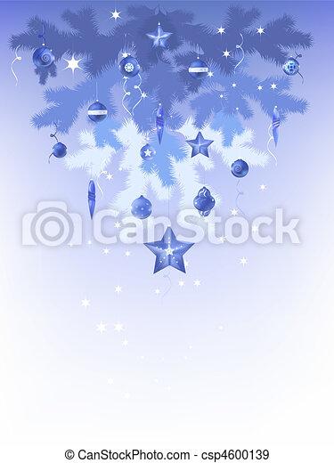 christmas tree upside down - csp4600139