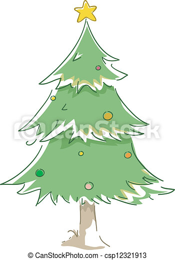 Christmas Tree - csp12321913