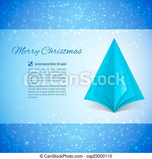 Christmas tree - csp23000110