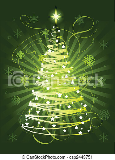 Christmas tree - csp2443751