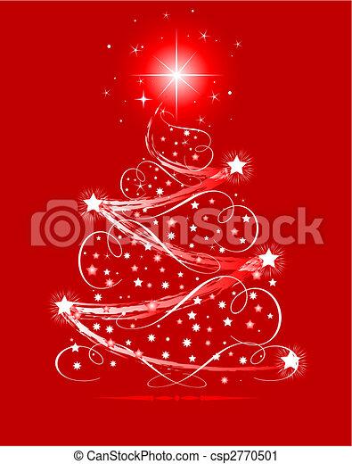 Christmas tree - csp2770501