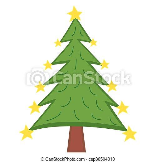 Christmas Tree - csp36504010
