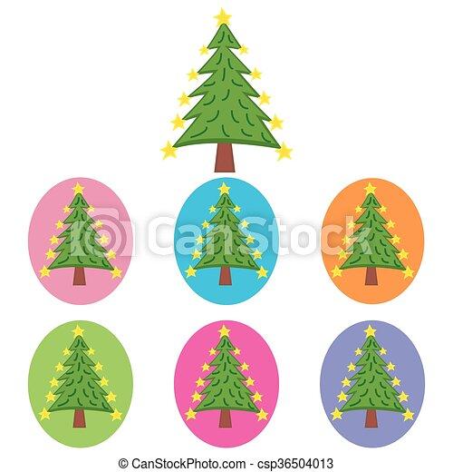 Christmas Tree - csp36504013