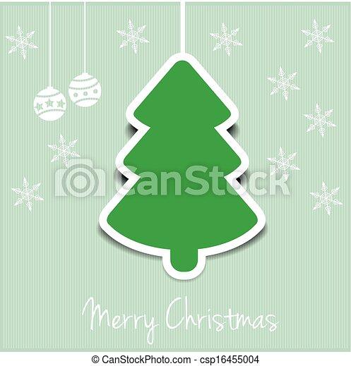 christmas tree - csp16455004
