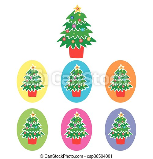 Christmas Tree - csp36504001