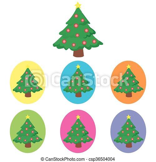 Christmas Tree - csp36504004