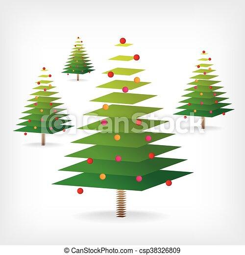 Christmas tree - csp38326809