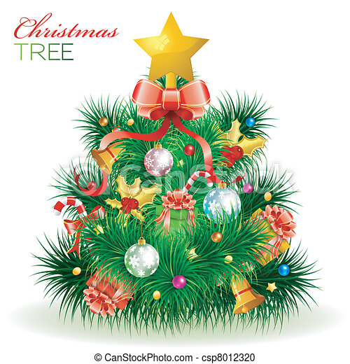 Christmas Tree - csp8012320