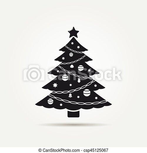 Christmas Tree Vector Icon