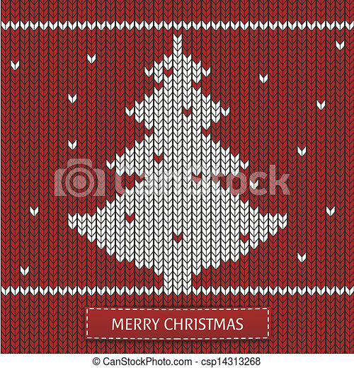 Christmas tree with ornaments - csp14313268
