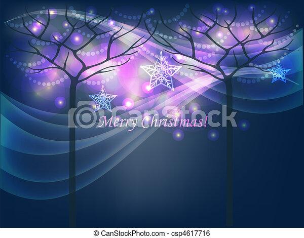 Christmas trees - csp4617716