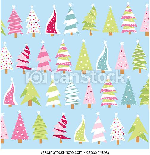 Christmas trees - csp5244696