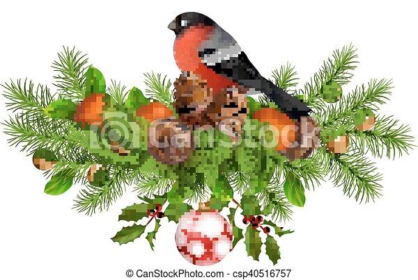 Christmas Vector Card - csp40516757