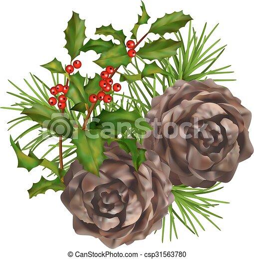 Christmas vector composition - csp31563780