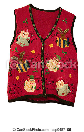 Christmas Vest.Christmas Vest