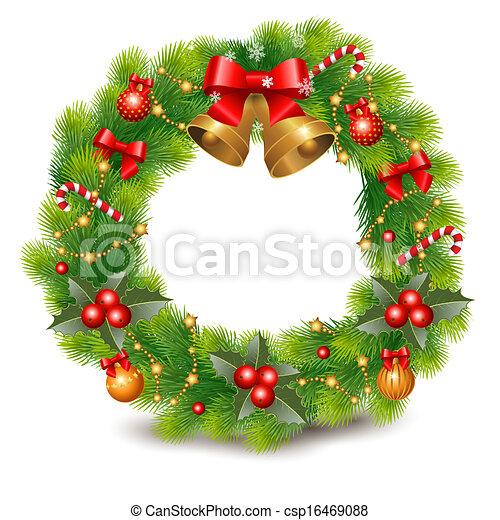 Christmas wreath - csp16469088