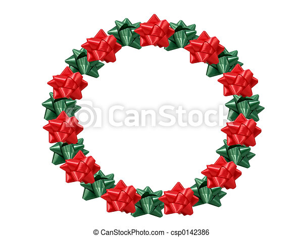 Christmas Wreath - csp0142386