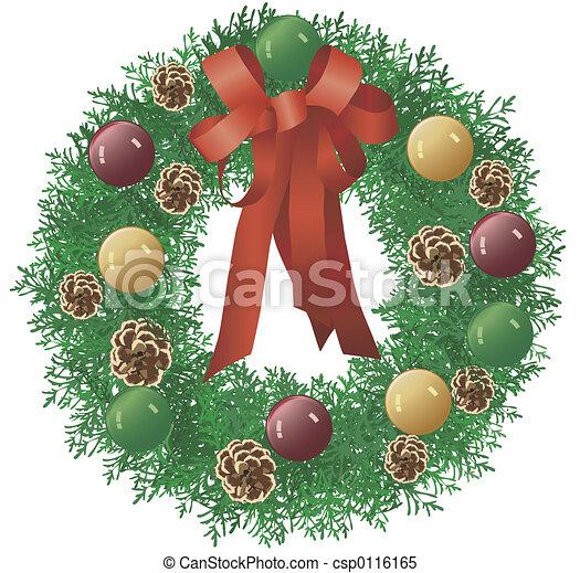 Christmas Wreath - csp0116165