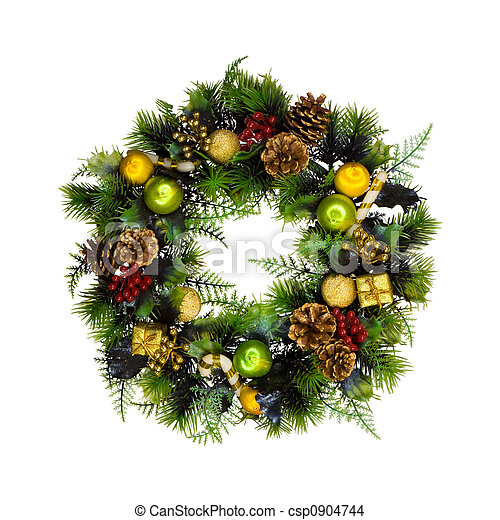 Christmas wreath - csp0904744