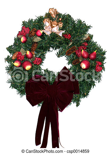 Christmas Wreath - csp0014859