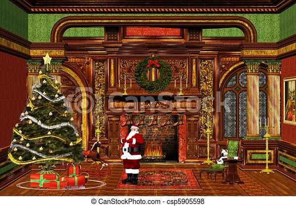 Christmasday - csp5905598
