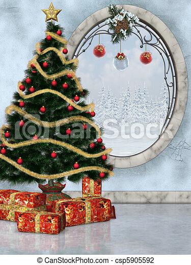 Christmastime 2 - csp5905592