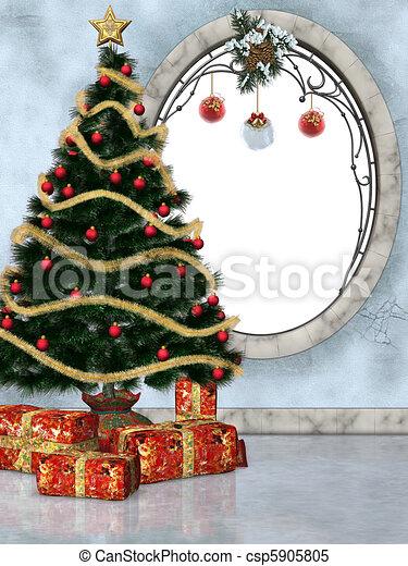 christmastime 3 - csp5905805