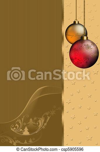 Christmastime - csp5905596