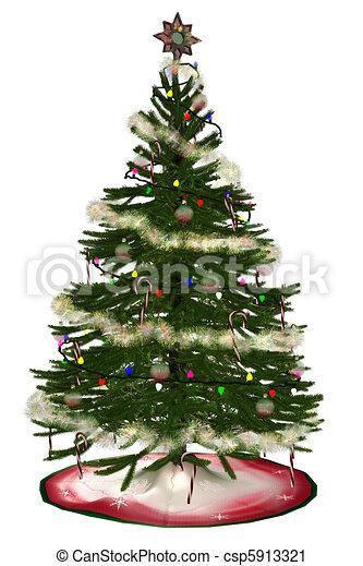 Christmastree - csp5913321