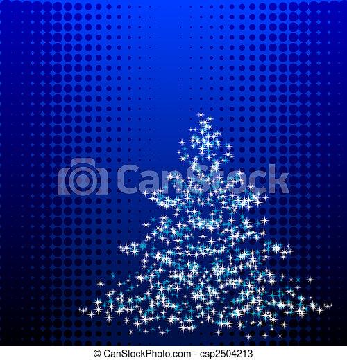 Christmastree - csp2504213