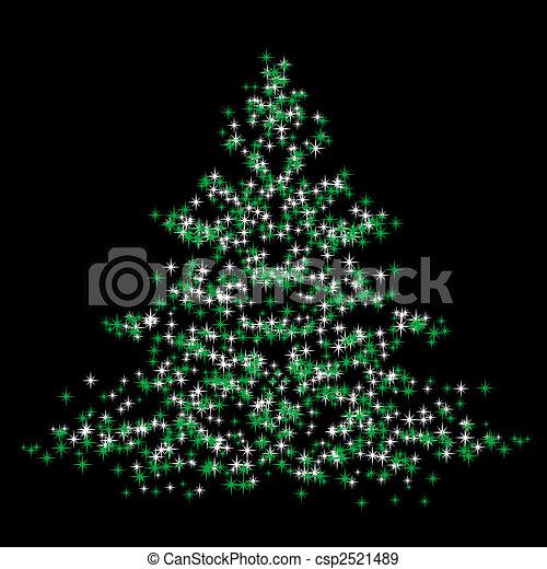 Christmastree - csp2521489