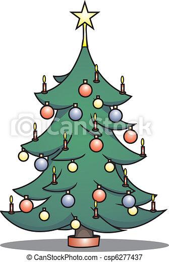 christmastree - csp6277437