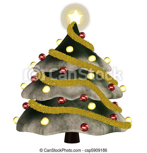 Christmastree - csp5909186