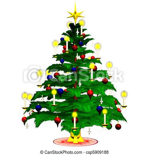 Christmastree - csp5909188