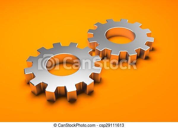 Chrome gear - csp29111613