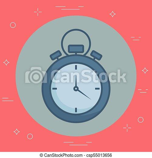 chronometer device icon - csp55013656